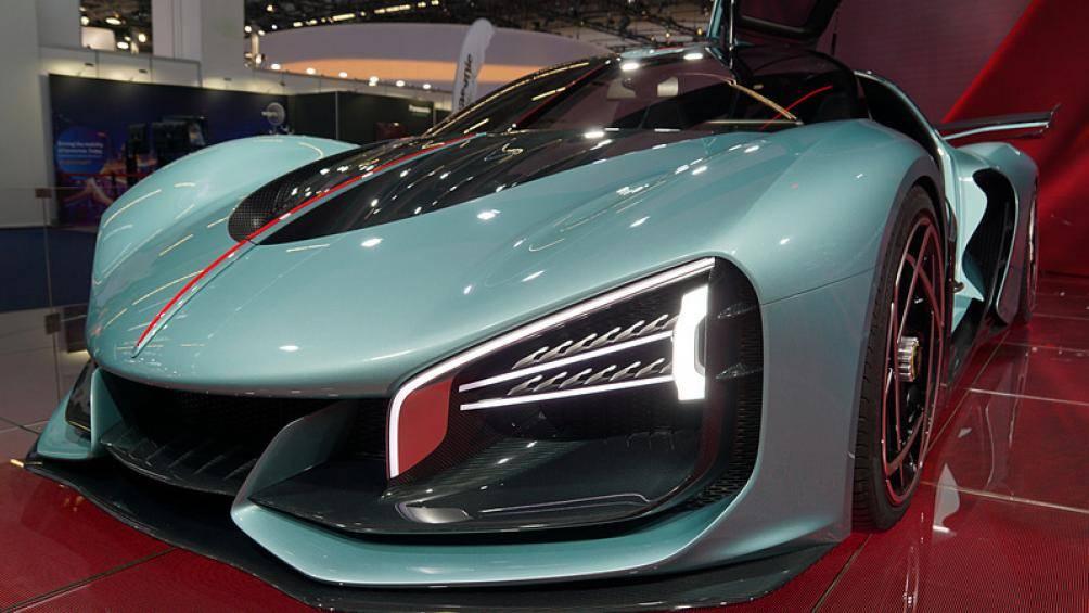 """Siêu xe Hồng Kỳ lần đầu xuất hiện ở Frankfurt Motor Show 2019 khiến giới chơi xe """"lóa mắt"""" - Ảnh 6"""