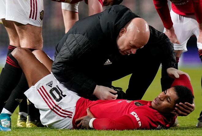 Rashford dính chấn thương, MU lo lắng cho trận đại chiến Liverpool - Ảnh 1