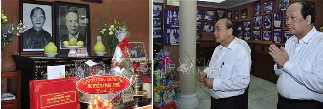 Thủ tướng Nguyễn Xuân Phúc dâng hương, tưởng nhớ các đồng chí nguyên lãnh đạo Đảng, Nhà nước - Ảnh 3