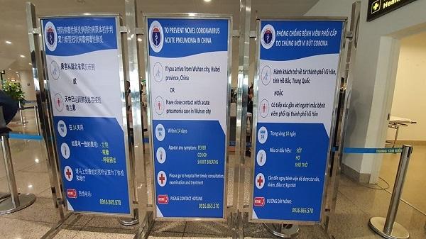 Sân bay Nội Bài tăng cường tăng cường nhân lực, trang thiết bị kiểm dịch phòng viêm phổi cấp - Ảnh 1