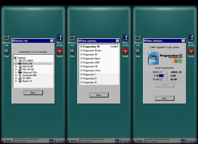 Tin tức công nghệ mới nóng nhất hôm nay 5/1: Smartphone có thể được hô biến thành máy tính Windows 95 - Ảnh 1