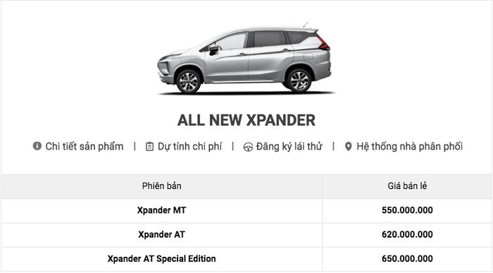 Bảng giá xe Mitsubishi mới nhất tháng 1/2020: Mitsubishi Outlander giảm 91 triệu đồng - Ảnh 8