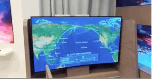 TV LG biến hình từ thẳng thành cong chỉ trong một nốt nhạc - Ảnh 1