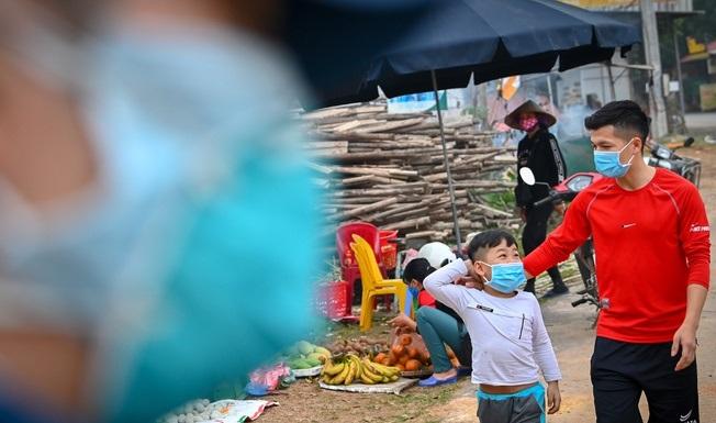Vĩnh Phúc phong toả gần 11.000 người ở xã Sơn Lôi để ngăn dịch Covid-19 - Ảnh 1