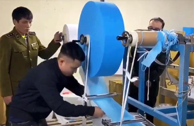 Sản xuất khẩu trang bằng giấy vệ sinh, không có giấy phép sẽ bị xử phạt như thế nào? - Ảnh 1