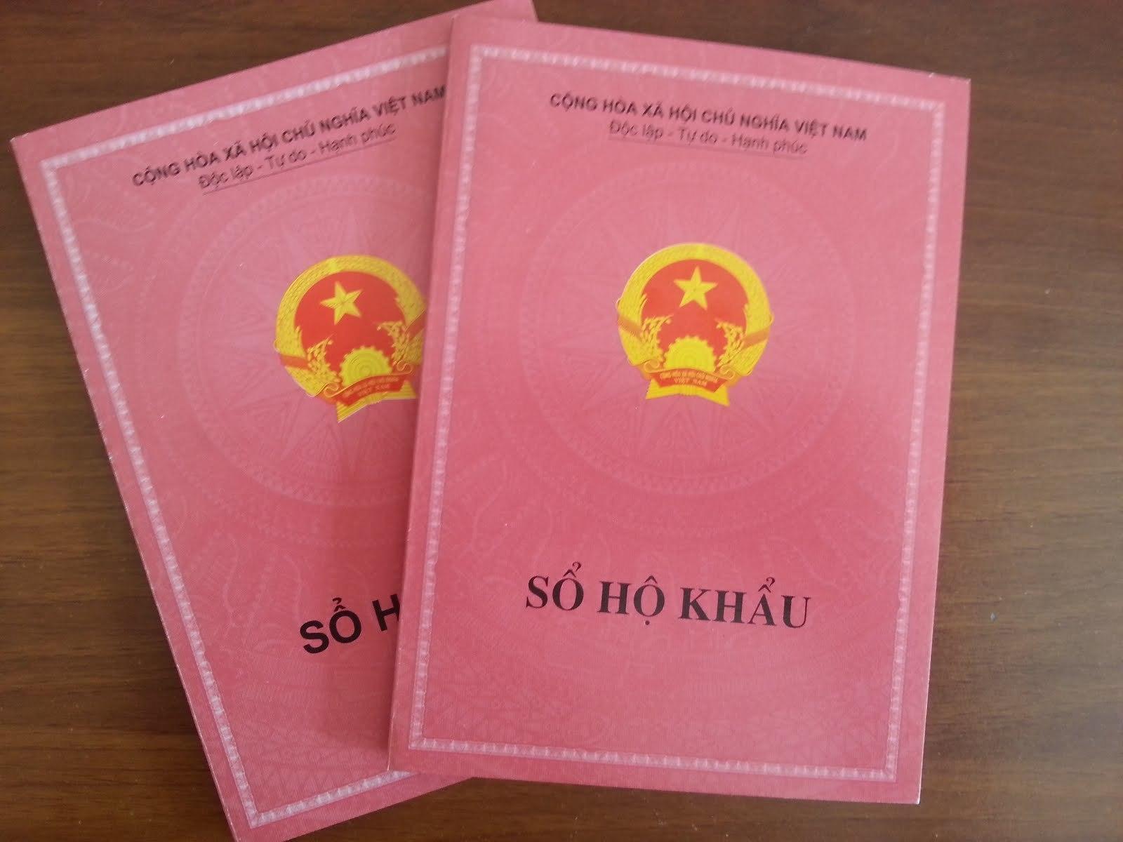Bộ Công an đề xuất bỏ sổ hộ khẩu giấy - Ảnh 1