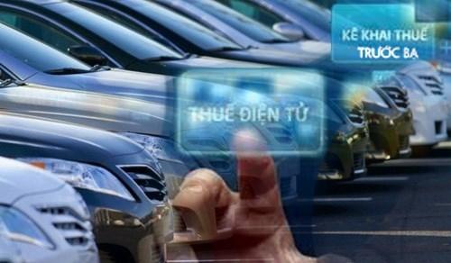Bắt đầu triển khai nộp lệ phí trước bạ điện tử ôtô, xe máy - Ảnh 1