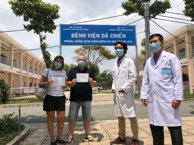 Việt Nam đã chữa khỏi 201 ca Covid-19, chiếm 75% tổng số bệnh nhân - Ảnh 1