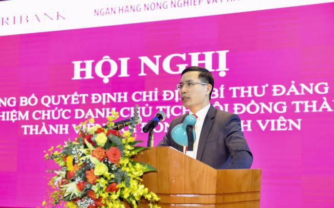 Chánh văn phòng NHNN sang nhận nhiệm vụ mới tại ngân hàng Agribank - Ảnh 1
