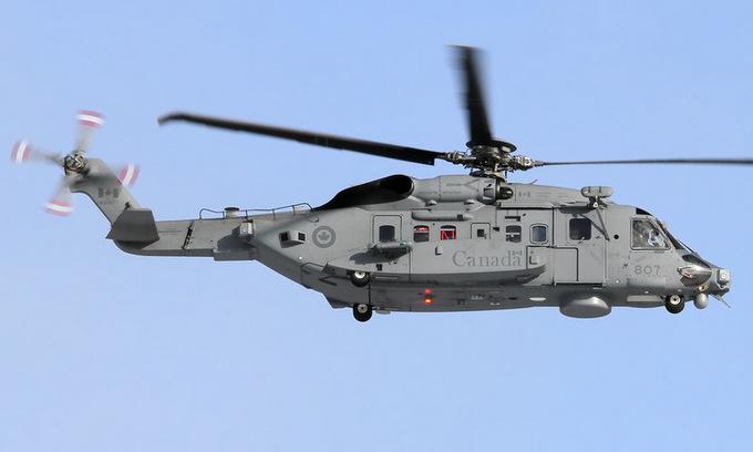 Trực thăng Canada mất tích khi đang diễn tập quân sự ngoài khơi - Ảnh 1
