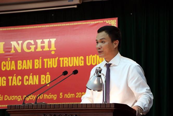 Chân dung tân Phó Bí thư tỉnh ủy Hải Dương vừa được bổ nhiệm - Ảnh 1