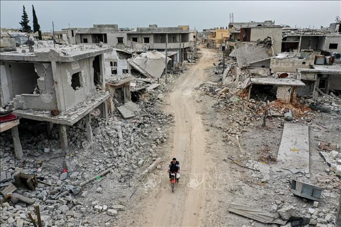 Giao tranh khốc liệt ở Idlib, 22 người bị thiệt mạng - Ảnh 1