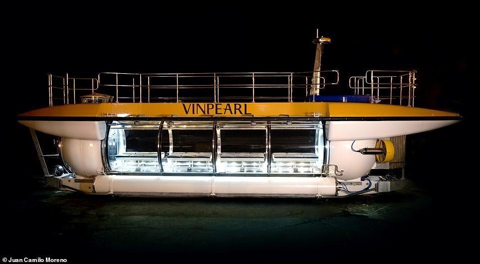Ông chủ Vingroup mua tàu ngầm DeepView24 cho du khách Vinpearl trải nghiệm - Ảnh 1