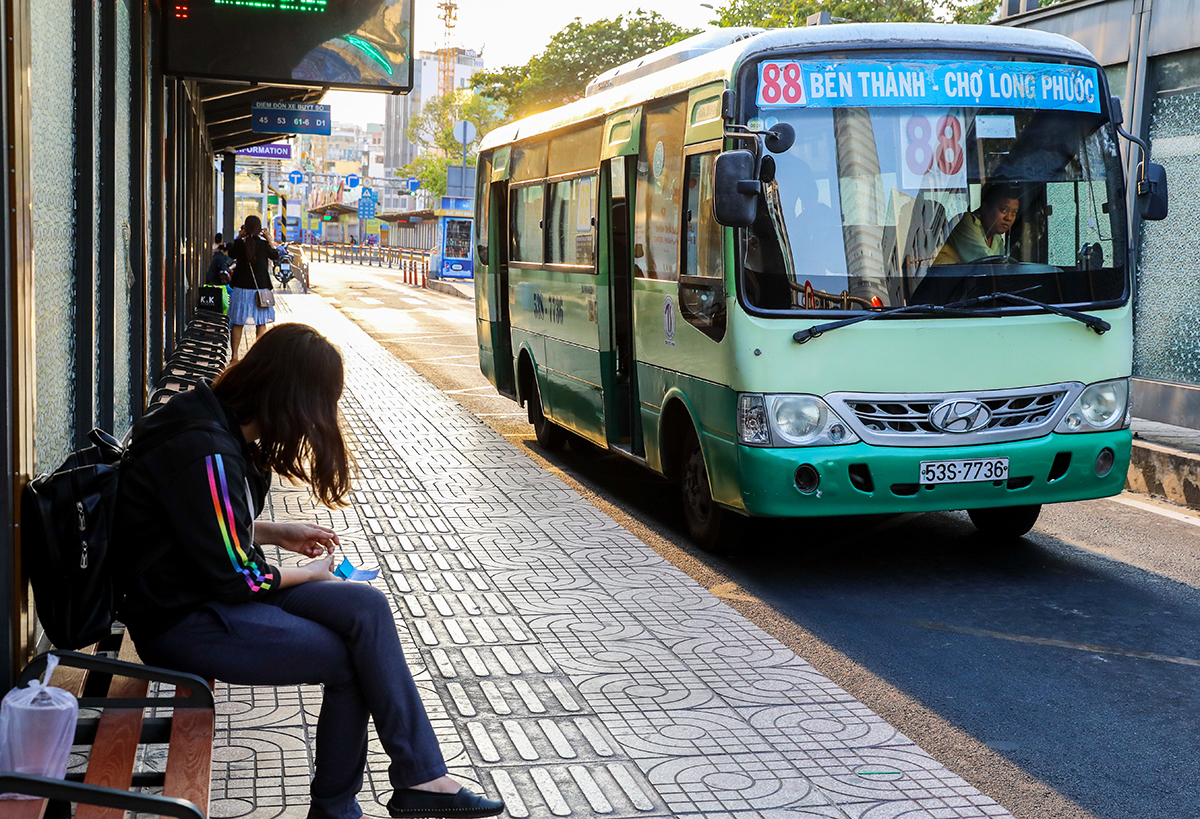 Xe buýt ở TP.HCM hoạt động trở lại bình thường từ ngày 11/5 - Ảnh 1