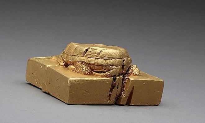 """Trung Quốc tìm thấy ấn triện bằng vàng nặng gần 8kg, khắc chữ """"Báu vật của Thục vương"""" - Ảnh 1"""