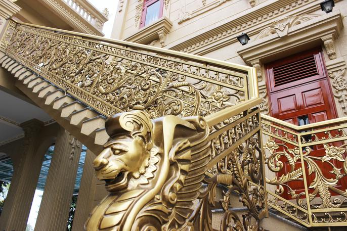 """Lâu đài """"tiền tấn"""" của cô dâu Nam Định được tặng 200 cây vàng - Ảnh 9"""