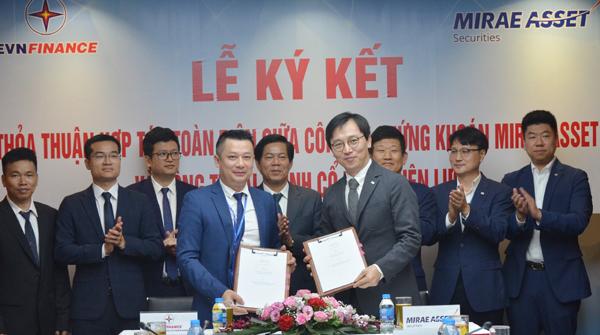EVN Finance và tập đoàn tài chính toàn cầu Mirae Asset ký thỏa thuận hợp tác  - Ảnh 1