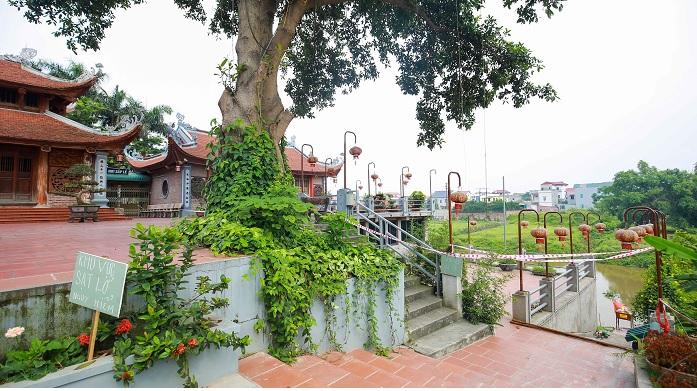 Hà Nội: Bờ sông tại khu di tích đền Ba Voi sạt lở nghiêm trọng - Ảnh 1