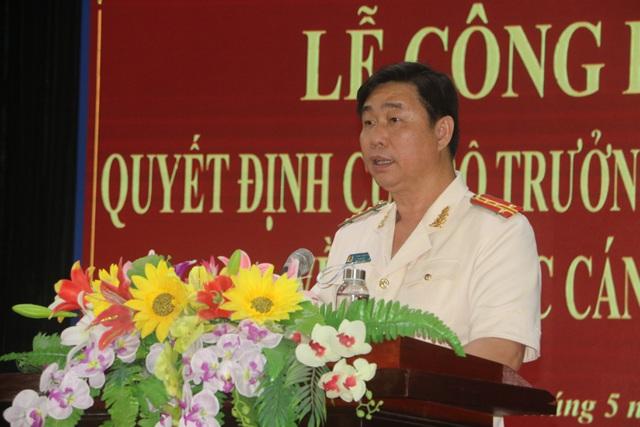 Phó Giám đốc Công an Bình Định giữ chức Giám đốc Công an tỉnh Quảng Ngãi - Ảnh 1