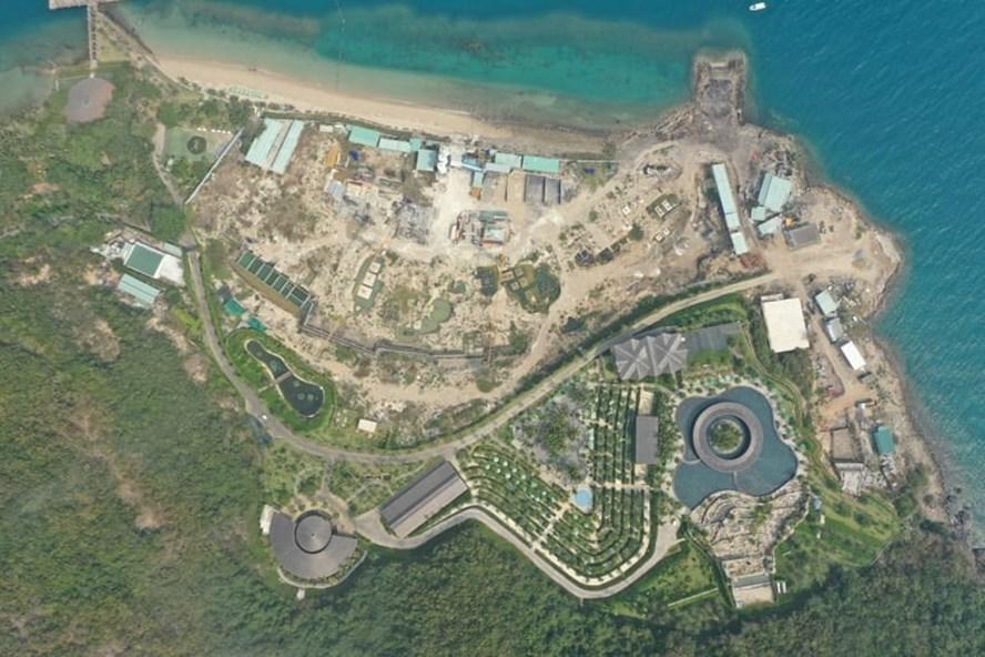 """Khánh Hòa: Chủ dự án khu du lịch """"băm nát"""" đảo Hòn Tằm bị phạt 117 triệu đồng - Ảnh 1"""