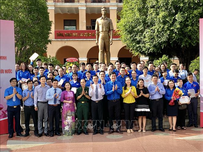 Tuyên dương thanh niên tiên tiến Thành phố Hồ Chí Minh làm theo lời Bác - Ảnh 1