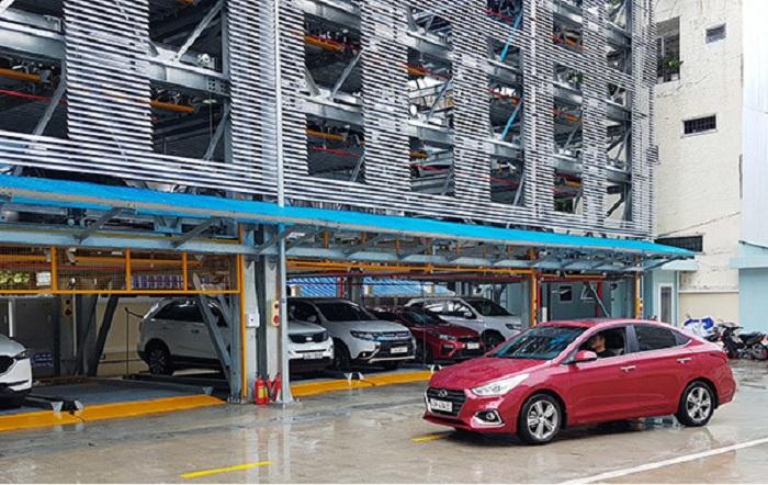 Đà Nẵng đầu tư hơn 100 tỷ đồng xây dựng 2 bãi đỗ xe thông minh - Ảnh 1