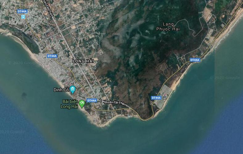 Bà Rịa - Vũng Tàu công bố quy hoạch khu vực Long Hải rộng 2.000ha - Ảnh 1