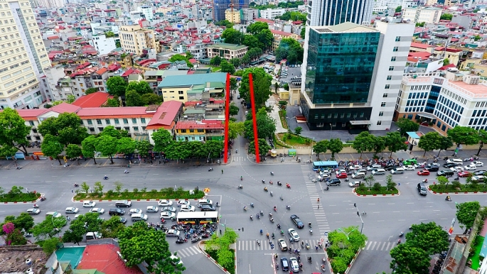 Hà Nội lập thiết kế đô thị tuyến đường Huỳnh Thúc Kháng - Voi Phục dài khoảng 1,3 km - Ảnh 1