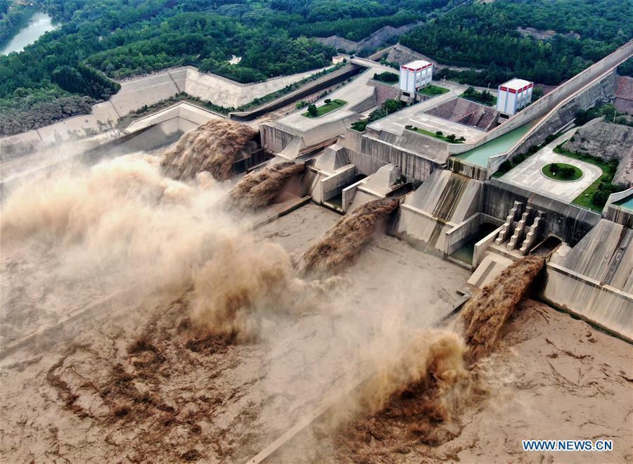 Đập lớn thứ 2 Trung Quốc xả lũ 19 ngày liên tiếp - Ảnh 1