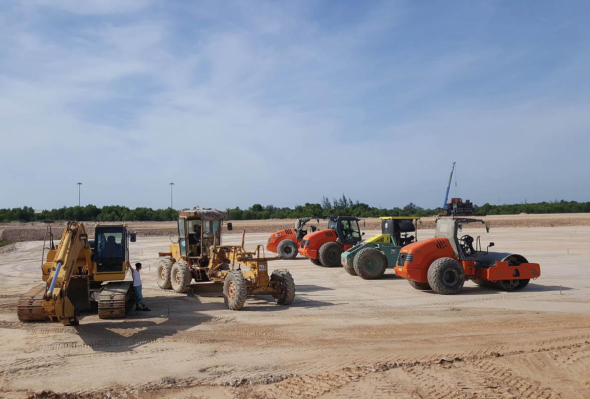 Nguyên nhân nào khiến dự án nhà ga T2 Cảng hàng không quốc tế Phú Bài bị dừng thi công đột ngột? - Ảnh 1