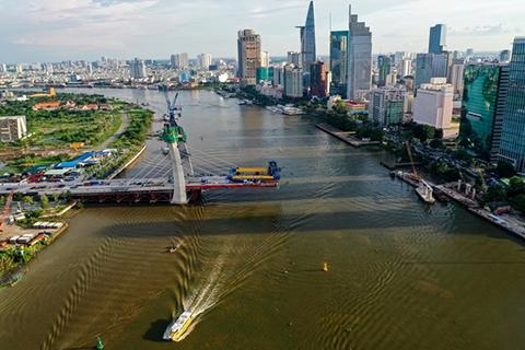 TP.HCM chấp thuận lùi tiến độ hoàn thành dự án cầu Thủ Thiêm 2 đến tháng 9/2021 - Ảnh 1