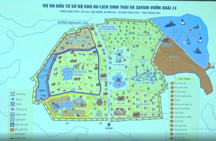 Một doanh nghiệp đề xuất  làm dự án Safari hơn 2.000 nghìn tỷ đồng, quy mô hơn 400ha ở Đồng Nai - Ảnh 1