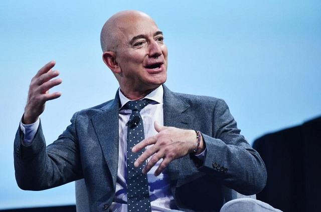 Tài sản của ông chủ Amazon sắp sửa cán mốc 200 tỷ USD - Ảnh 1