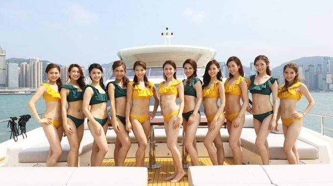 Top 11 Hoa hậu Hong Kong diện áo tắm khiến người xem thất vọng vì lộ mỡ thừa kém duyên - Ảnh 1