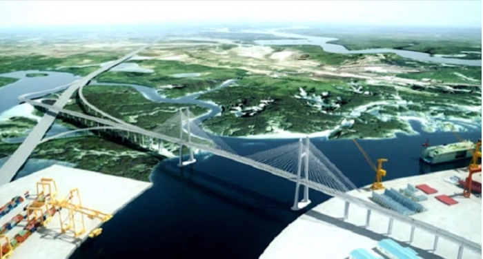 Duyệt chủ trương xây cầu Phước An gần 4.900 tỷ nối nối cảng Cái Mép - Thị Vải với cao tốc - Ảnh 1