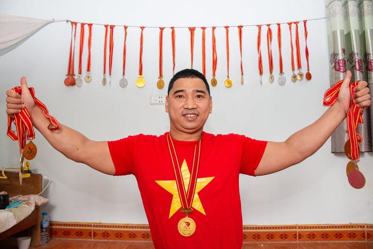 """Số phận đặc biệt của vận động viên không chân được mệnh danh là """"triệu phú"""" huy chương - Ảnh 1"""