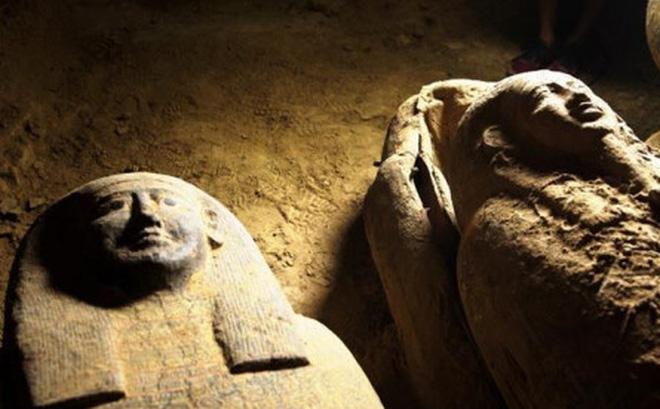 Ai Cập phát hiện thêm ít nhất 13 quan tài 2.500 năm tuổi được bảo toàn gần như nguyên vẹn - Ảnh 1