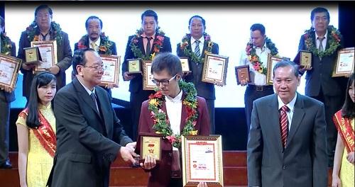 Caganu Group – TGĐ Nguyễn Quang Huy đăng quang Sao vàng đất Việt - Ảnh 1