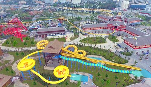 Công viên nước hiện đại nhất Đông Nam Á sắp khai trương tại Hạ Long - Ảnh 3