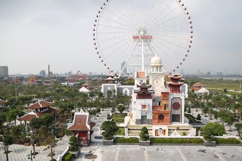 Sun World Danang Wonders (Asia Park) giảm 50% giá vé cho học sinh đi theo đoàn - Ảnh 1