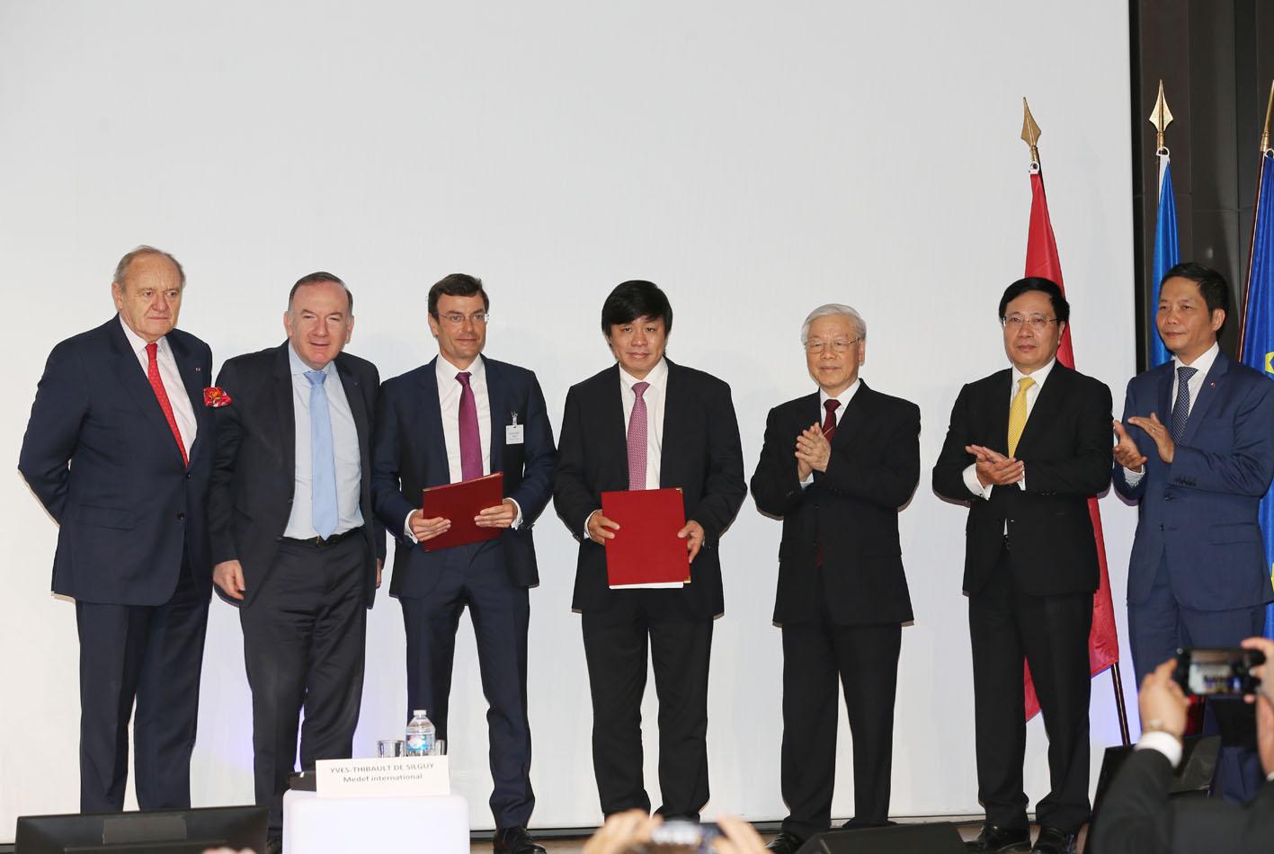 Vietjet ký các Hợp đồng, Thoả thuận trị giá 7,3 tỉ đô la Mỹ trong chuyến thăm chính thức Pháp của Tổng Bí thư Nguyễn Phú Trọng - Ảnh 1