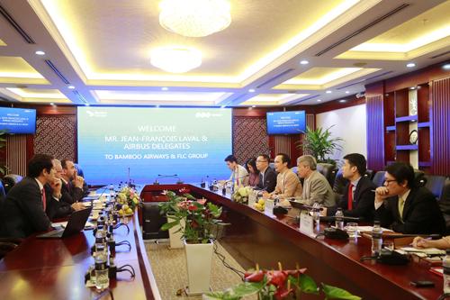 FLC và Airbus đạt được thoả thuận 3 tỷ USD mua 24 máy bay cho Bamboo Airways - Ảnh 1