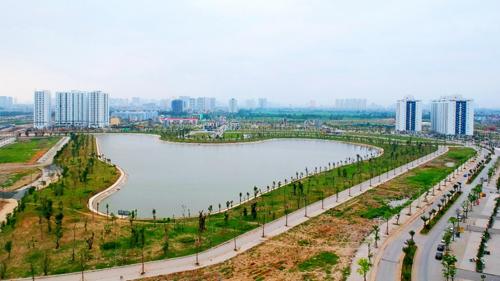 Hồ điều hòa – Lá phổi xanh trong lòng khu đô thị Thanh Hà Mường Thanh - Ảnh 2