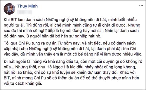 """Loạt sao Việt treo status khi Chi Pu """"chào sân"""" MV đầu tay trong vai trò ca sĩ - Ảnh 2"""