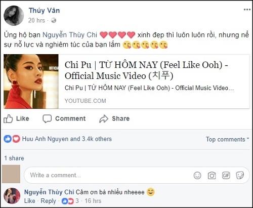 """Loạt sao Việt treo status khi Chi Pu """"chào sân"""" MV đầu tay trong vai trò ca sĩ - Ảnh 6"""