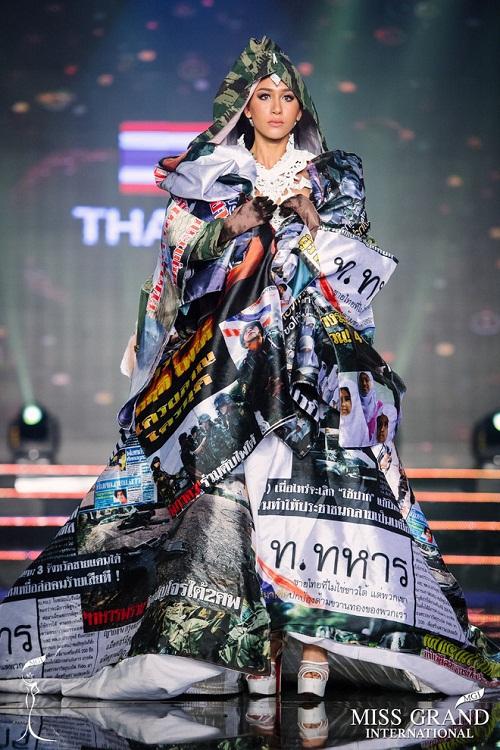 """Chuyện hy hữu: BTC """"Miss Grand International"""" công bố nhầm Top 1 bình chọn Trang phục dân tộc giữa Việt Nam và Indonesia - Ảnh 11"""