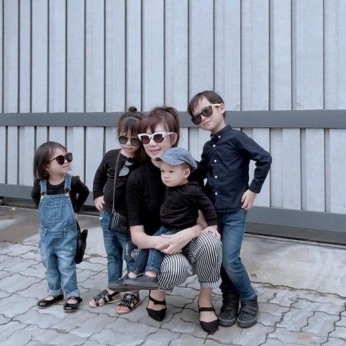 Phát cuồng với hình ảnh đáng yêu, ngộ nghĩnh của 4 nhóc tỳ Lý Hải - Minh Hà - Ảnh 4