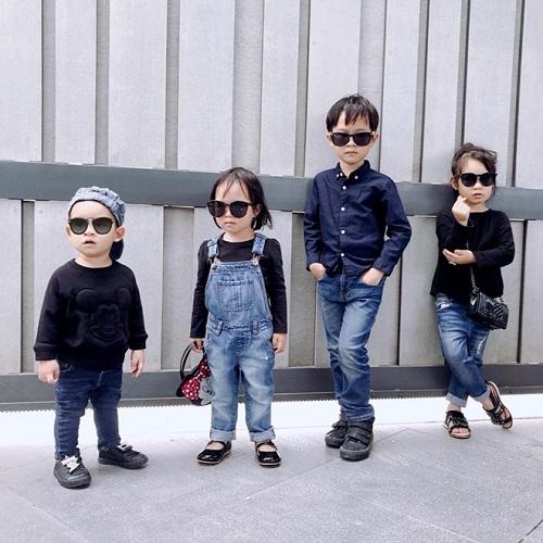 Phát cuồng với hình ảnh đáng yêu, ngộ nghĩnh của 4 nhóc tỳ Lý Hải - Minh Hà - Ảnh 2