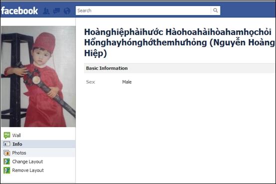 """""""Cười té ghế"""" với bộ sưu tập những cái tên Facebook độc nhất vô nhị  - Ảnh 18"""