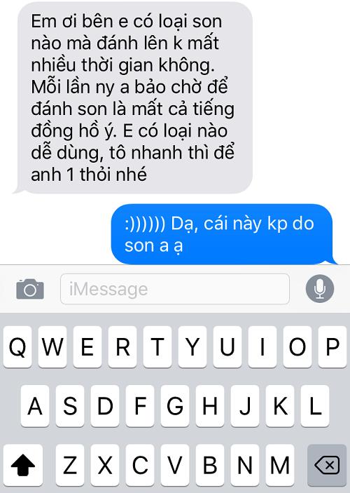 """""""Cười sặc sụa"""" với loạt tin nhắn mô tả để mua son cho bạn gái của các chàng - Ảnh 4"""